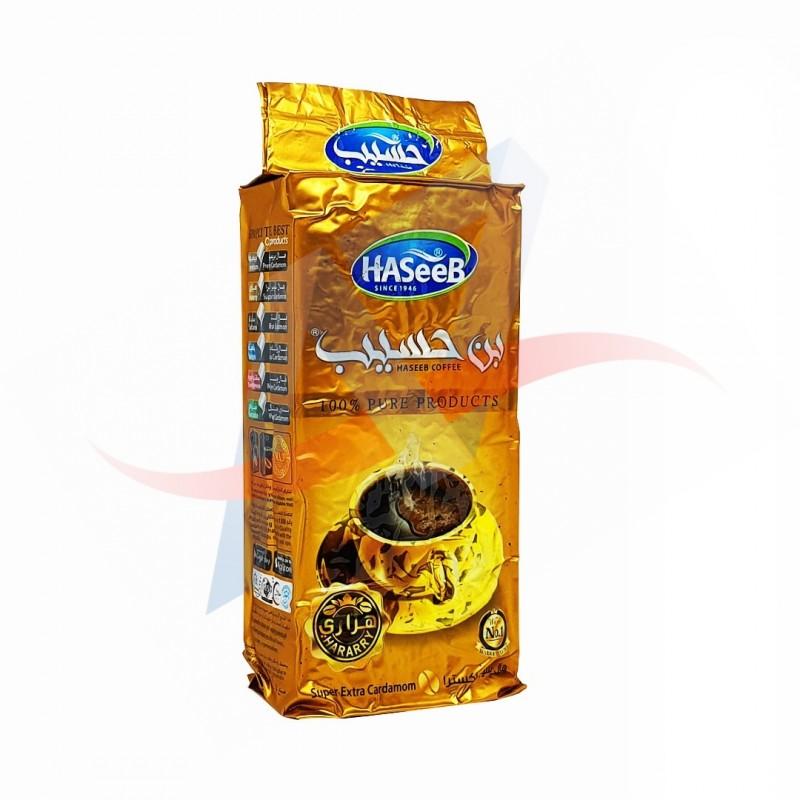 Café moulu à la cardamome Haseeb (Golden) 200g