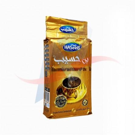 Café moulu à la cardamome Haseeb (Golden) 500g