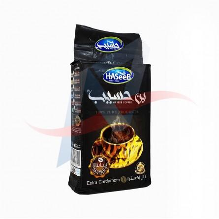 Café moulu à la cardamome extra Haseeb 500g