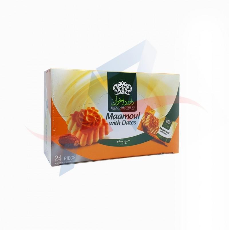 Maamoul aux dattes 500g Daoud (24 pièces)