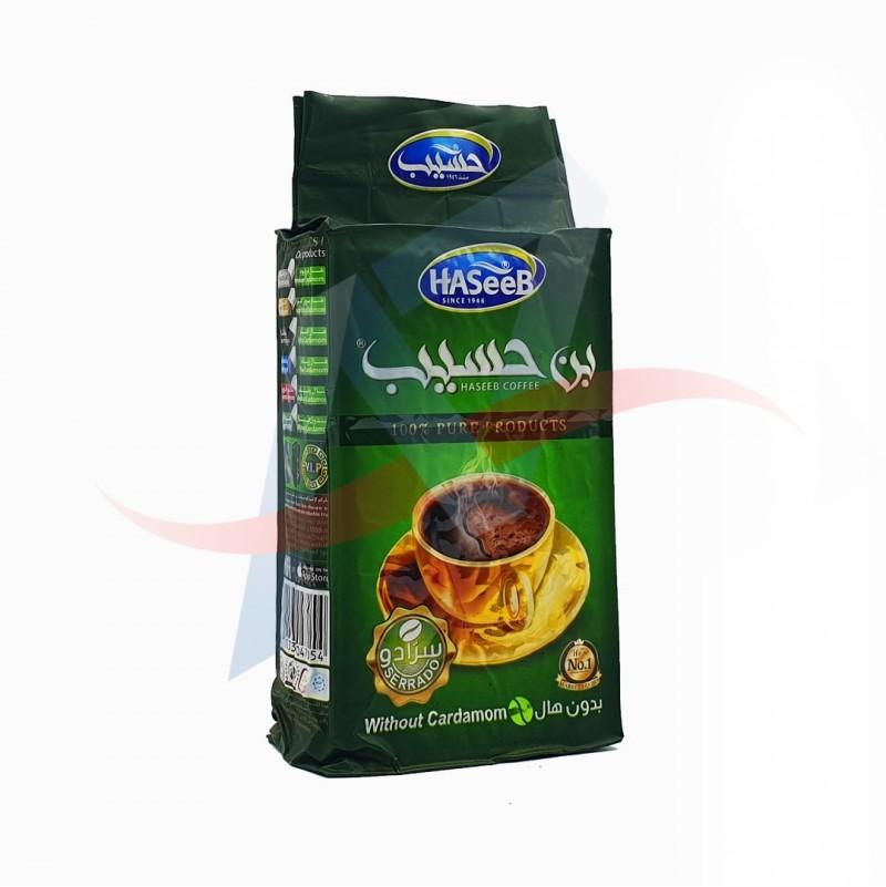 Café moulu sans cardammome Haseeb 500g